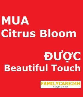 Chương trình khuyến mãi mua Tinh dầu Citrus Bloom tặng Tinh dầu Beautiful Touch