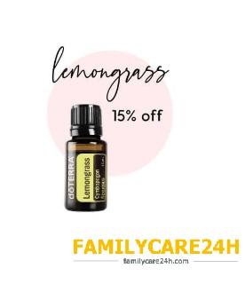 Chương trình khuyến mãi cho tháng 3/2021 giảm ngay 15% khi quý khách mua Tinh dầu Sả Lemongrass