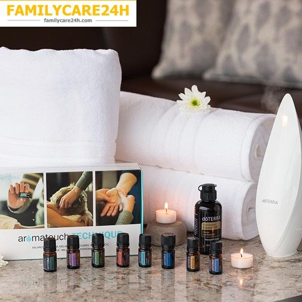 Liệu Pháp Hương Thơm & Massage