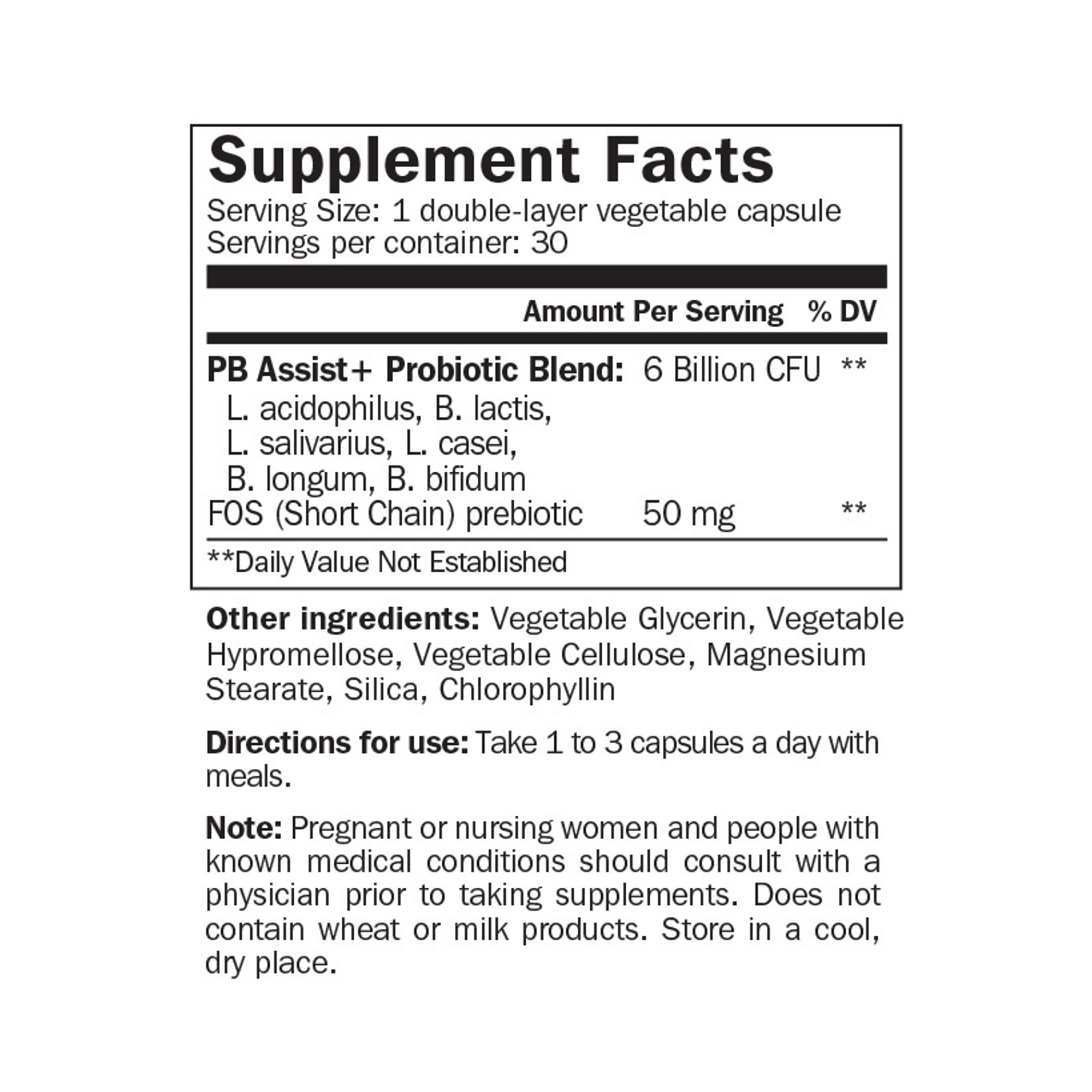 Lợi Khuẩn Cho Đường Ruột - PB Assist ®+ Probiotic Defense Formula