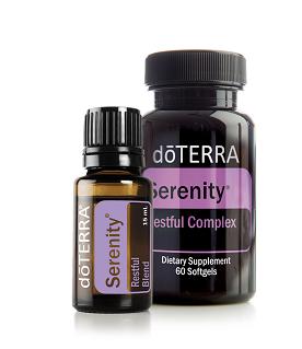 Bộ Tinh Dầu Tĩnh Lặng - dōTERRA Serenity ® Combo Pack